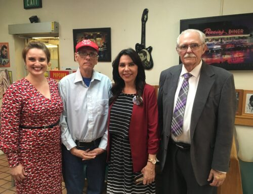 State Assemblywoman Blanca Rubio Visits The Roland Center